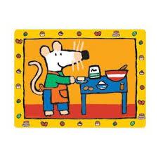 souris dans la cuisine set de table mimi souris pomme de pin