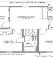 Backyard Guest Cottage by Small Guest House Floor Plans Small Guest Cottage Plans Small