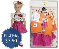 Kitty Halloween Costume Kids Kitty Costumes 7 50 Target