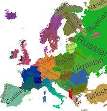 Map Writer Map Of The Holy Roman Empire 1789 Maps Of Europe