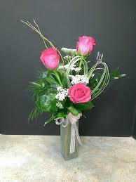 Bud Vase Arrangements Three Rose Bud Vase Our Most Popular Bud Vase Features Three