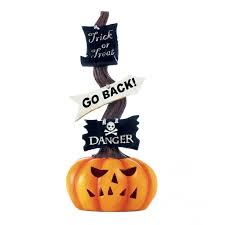 light up pumpkins for halloween the holiday aisle spooky halloween pumpkin light up sign reviews