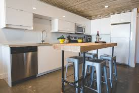 Kitchen Furniture Canada A Bright And Warm White Ikea Kitchen In Yellowknife Canada