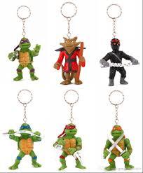 tmnt teenage mutant ninja turtle key chains rings cartoon minion