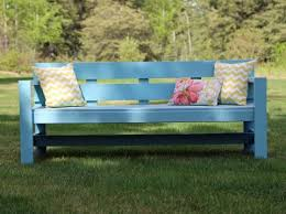 Woodworking Plans Park Bench Free by Pretty And Modern 2x4 Outdoor Bench Very Easy To Make Project