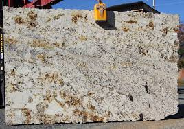 Materials For Kitchen Countertops Interior Delicatus Gold Granite Slabs For Kitchen Countertop
