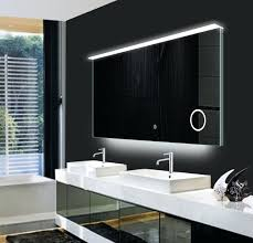 bathroom heated mirrors backlit led bathroom mirror bathroom mirror fancy design ideas