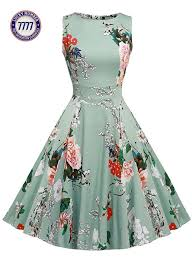 owin women u0027s vintage 1950 u0027s floral spring garden party dress party
