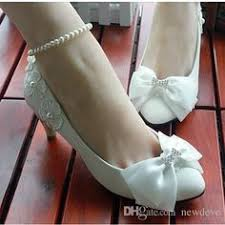 wedding shoes glasgow pearls flowers bowknot white wedding shoes 1 matron