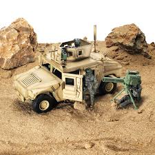 armored humvee blue box toys 1 18 m1114 up armored humvee