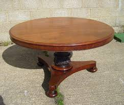 round mahogany dining table antique furniture warehouse large antique round table late