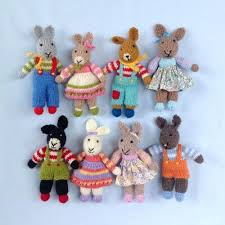 Easter Knitted Decorations by Easter Knitting Patterns Loveknitting