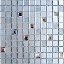 Mirrored Bathroom Wall Tiles - wholesale grey crystal glass mosaic tiles washroom backsplash