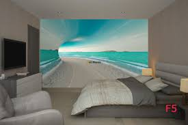 mural 3d tunnel with sea view and shore wall mural 3d tunnel with sea view and shore