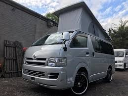 2006 rust free toyota hiace pop top fresh import 4 berth campervan