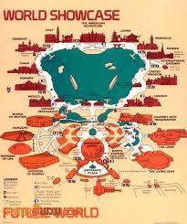 disney epcot map walt disney maps retrowdw