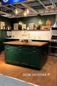 ikea kitchen cabinets eco friendly green ikea kitchen green kitchen cupboards green