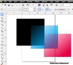 membuat gambar transparan di corel draw x7 cara membuat gambar transparan pada coreldraw belajar desain grafis