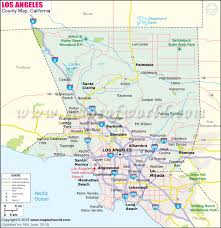 los angeles map pdf los angeles county map map of los angeles county california