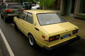 toyota corolla 2 door coupe parked cars 1979 toyota corolla 2 door