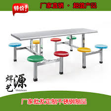 Stainless Steel Dining Table Steel Dinette Chairs Restaurant Dining Room Table Stainless Steel