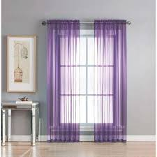 Lavender Window Curtains Purple Sheer Curtains Drapes Window Treatments The Home