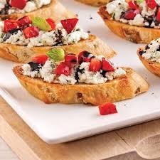 canapés au fromage de chèvre et fraises recettes cuisine et