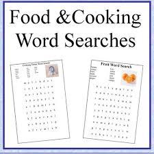 worksheets u2013 kids cooking activities