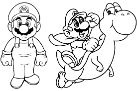 super mario coloring pages coloring