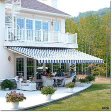 retractable deck awnings patio awning ideas wood patio awning