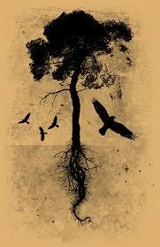 black bird tree tats etc bird tree bird and