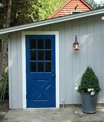Blue Benjamin Moore The Impatient Gardener Yet Another Blue Door
