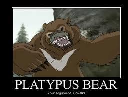 Platypus Meme - platypus bear