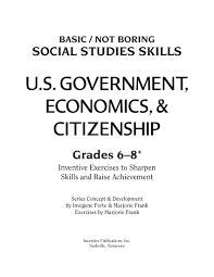 us government economics u0026 citizenship ip4023 world book store
