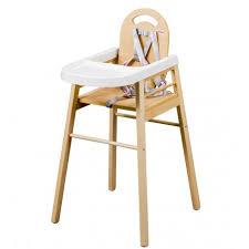 chaise bébé lili dossier bois naturel vernis naturel combelle