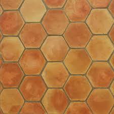indoor tile floor terracotta matte hexagonal ceramicas