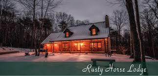 Barn Again Lodge Rusty Horse Lodge Hocking Hills Old Man U0027s Cave Ohio
