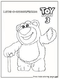 print huggin bear toy story 3 coloring pages fo kidsfree