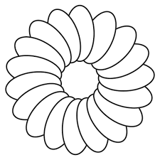 images for tulip flower coloring page simple pages this pin and