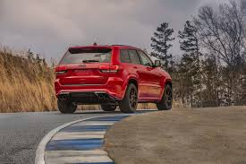 supercharged jeep grand cherokee jeep grand cherokee trackhawk is a 527kw supercharged v8 bruiser