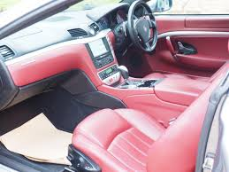pink maserati interior used 2008 maserati granturismo quattro for sale in cambridgeshire