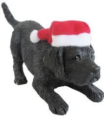 Dog Christmas Ornaments Black Lab Xmas Ornament Jpg