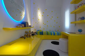 Kids Room Rugs by Interior Wall Decor Ideas For Kids With Yellow Bedframe And Desk