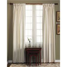 Insulated Curtains Cotton Duck Pinch Pleated Insulated Drapery Pairs