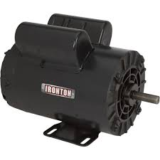 ironton compressor duty electric motor u2014 5 hp model 119575 00