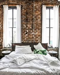 Best  Exposed Brick Bedroom Ideas On Pinterest Brick Bedroom - Apartment bedroom designs