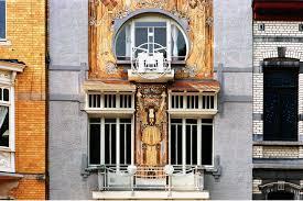 art nouveau houses brussels house style pinterest