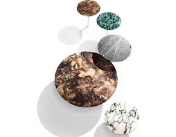 saarinen coffee table espresso marble hivemodern com