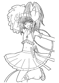 shugo chara coloring pages for kids printable free coloring