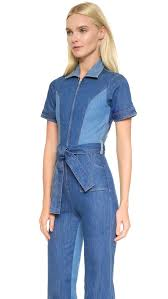 blue jean jumpsuit stoned immaculate blue jean baby jumpsuit shopbop